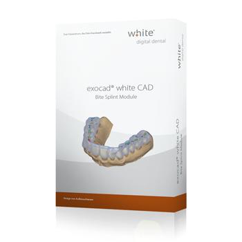 exocad®, white Bite Splint Add-on Modul