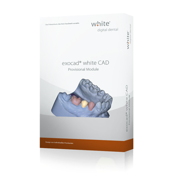 exocad®, white Provisional Add-on Modul