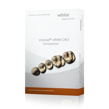 exocad®, white Zahnbibliothek Add-on Modul