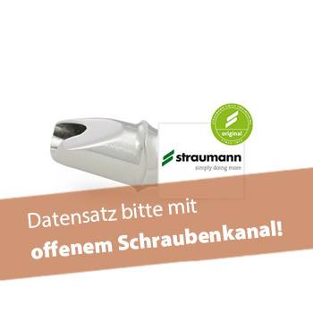 Abutment, Straumann® Tissue Level® WN (inkl. Abutmentschraube)