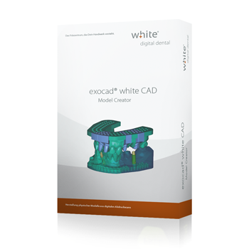 exocad®, white Model Creator Add-on Modul