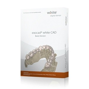 exocad®, white CAD Basis