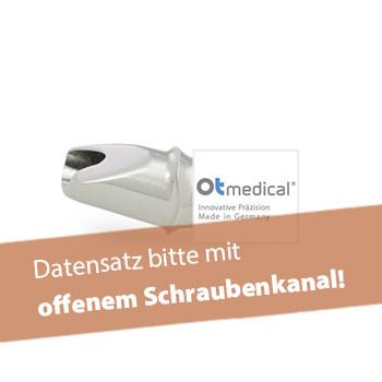 Abutment, OT medical® OT-F3 (inkl. Abutmentschraube)