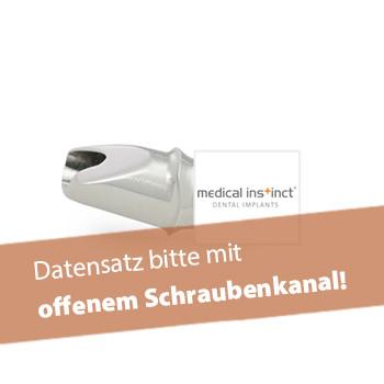 Abutment, medical instinct® (inkl. Abutmentschraube)