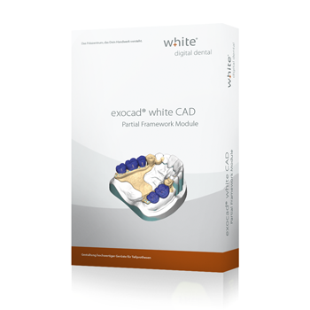 exocad®, white Partial CAD Add-on Modul