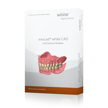 exocad®, white FullDenture Add-on Modul