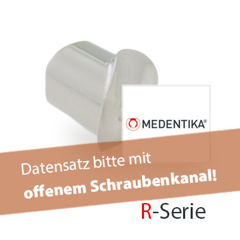 Abutment, R-Serie Zimmer Dental® / Tapered Screw-Vent® MIS® / SVEN® IH / BioHorizons® TIl, TIP, TTL
