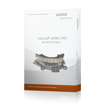 exocad®, white Jaw Motion Import Add-on Modul
